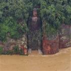 중국,홍수,태풍,이재민