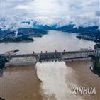 홍수,창장,중국