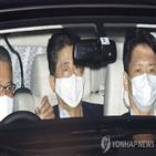 총리,아베,일본,병원,건강