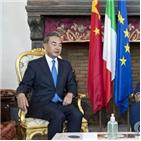 중국,이탈리아,기업,냉전,방문,홍콩