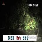 지역,오전,북한,태풍,황해남,새벽,옹진군