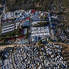 난민촌,코로나19,그리스,확진자가,발생,가자지구