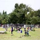 공원,한강공원,시민,거리두기,서울시,코로나19,자제