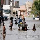 홍수,니제르,아프리카,피해,서부,차드