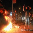리비아,하프타르,동부,시위