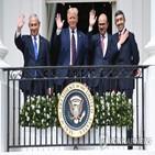 사우디,협정,이스라엘,아브라함,관계,트럼프,정상화,팔레스타인,이슬람,드라마