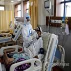 인도,코로나19,의료진,상황,확진,의료,바이러스,조사