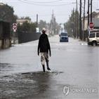 텍사스주,미국,폭풍,베타