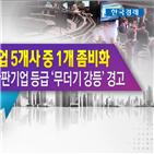 한국,간판기업,강등,기업,경고,세계,좀비,신용등급,평가,반등