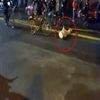 경찰,시위,시애틀,경찰관,자전거