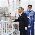 오염수,스가,원전,후쿠시마,총리,처분,결정