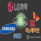 배터리,LG화학,SK이노베이션,흑자,업체,전기차,부문,삼성