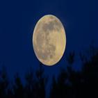 구름,보름달,다음달