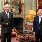 코로나19,박병석,국왕,의장,스웨덴,북한,구스타프