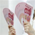 위안화,중국,달러화,달러,최고