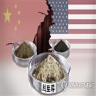 희토류,중국,세계,산업,공급,미국