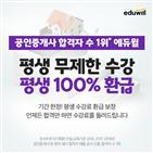 에듀윌,합격,공인중개사,환급,학습,실무