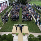 코로나19,백악관,의원,검사,트럼프,대통령,지명식,공화당,참석자