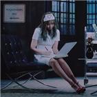간호사,장면,뮤직비디오,블랙핑크