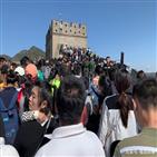 중국,대기,관광지,유명