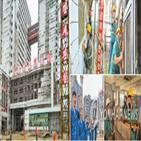 위성사진,평양종합병원,북한,공개,외장공사