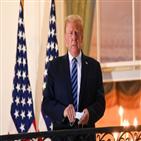 부양책,트럼프,대통령,민주당,협상,제한,중단