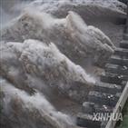 홍수,중국,최근,당국