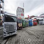 수소전기트럭,현대차,스위스,유럽,인도,시장,공급,엑시언트,이상,계획