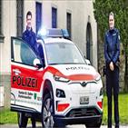 현대차,코나,경찰,스코틀랜드,차량