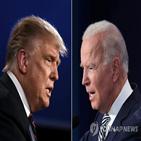 트럼프,대통령,대선,후보,바이든,여론조사,포인트,클린턴,미국,결과