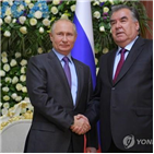 대선,대통령,집권,결과,득표율,타지키스탄,승리,푸틴,국가,소련