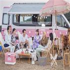 캠핑,갬성캠핑,박나래,모습,송승헌