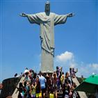 예수상,리우,거대,관광객,금지,기념미사