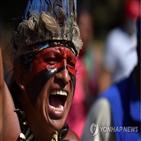 원주민,콜롬비아,정부,콜럼버스,발견,신대륙,경찰,행진