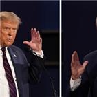 트럼프,대통령,바이든,후보,지지자,대선,지지,가운데