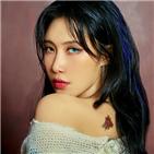 예지,미묘,공개,컴백