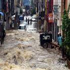 인도,최근,사망,남부,홍수