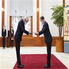 한국,대통령,유명희