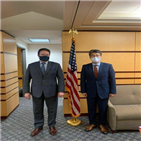 외교부,지난달,국무부,논의