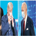 트럼프,대통령,타운,미팅,바이든,질문