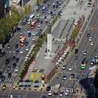 집회,서울,차량,택배,근로자,택배기사