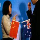 호주,중국,석탄,면화,수입