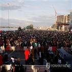 나이지리아,시위,경찰,소셜미디어,이번