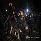 경찰,연봉,시위,포틀랜드,시간외수당