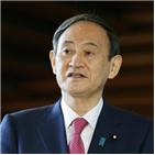 일본,스가,한국,총리,징용,피해자
