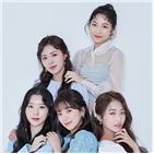 친구,디아,희수,채원,마카마카,은비,언니,선배님들,멤버,데뷔