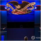 트럼프,대통령,토론,후보,모습,마지막,조치,기회