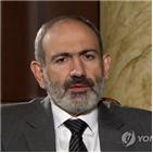 아르메니아,아제르바이잔,나고르노,카라바흐,외무장관,총리,외교적,휴전,러시아