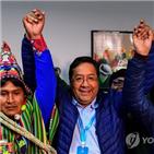 중남미,볼리비아,대선,정부,코로나19,모랄레스,좌파,우파,핑크