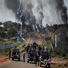 나이지리아,시위대,발포,최소,시위,대통령,나이지리아군,레키,광장,라고스